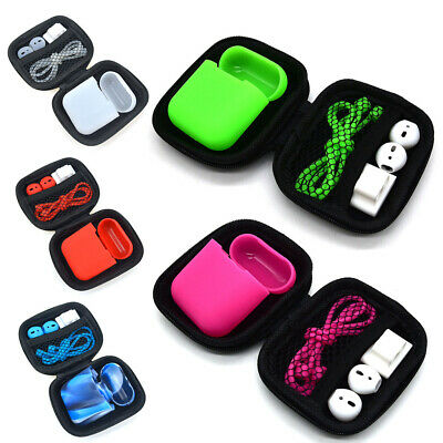 Anti-Lost Silicone Case Cover Strap Holder For SAfety Airpods Earpods Earbuds
