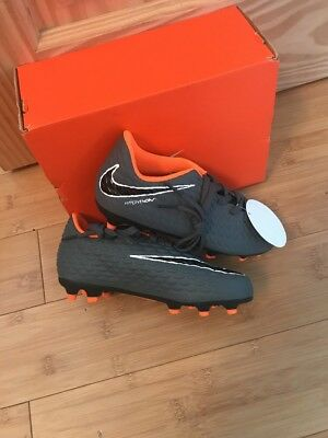 official photos 36bc4 65a48 ... cheap nike hypervenom phantom 3 club fg football boots bnib size 13  kids grey f0054 f972a
