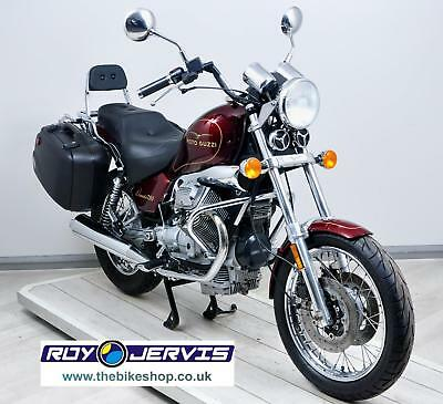 2000 (V) Moto Guzzi Nevada 750 Cruiser Red Panniers ONLY 8940 Miles