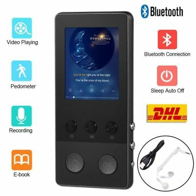 "1.8"" LCD Lettore MP3 MP4 Bluetooth Radio FM Registrazione TF Altoparlante"