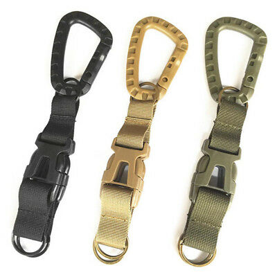 2pcs Quick Release QD Buckle Metal Hook for Tactical Molle