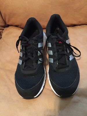 9d91cf991d5c9 ADIDAS RUN SMART MEN S RUNNING SHOES SNEAKERS SIZE 11 Black Silver White Red