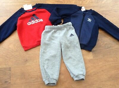 Bottoms Baby Boy Adidas Joggers 9-12 Mths