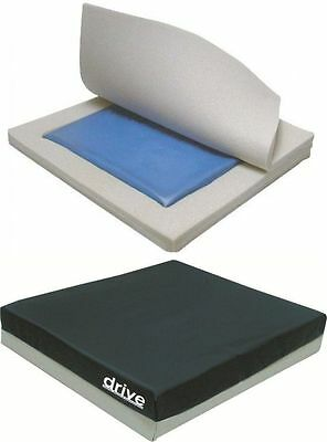 "4"" Waterproof Gel Seat Pressure Cushion - Ideal For Wheelchairs & Armchairs"