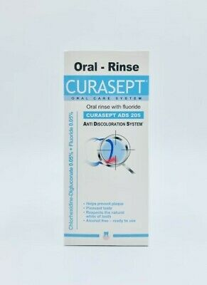 New Curasept ADS 205 Oral Rinse Mouthwash 200mL