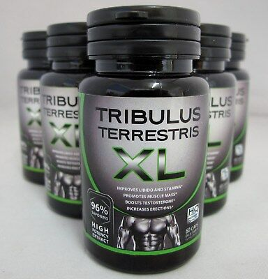 Tribulus Terrestris Extract 96% Saponins Build Muscle Testosterone Booster Caps
