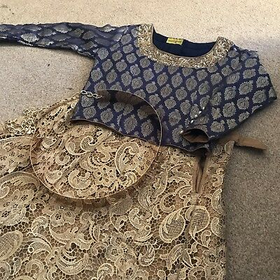 Asian Wear Top And Skirt