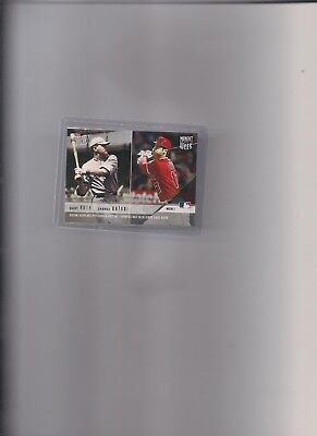 "2018 Topps Now Shohei Ohtani / Babe Ruth ""Moment of Week"" Card, Ohtani RC Year"
