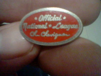 Baseball Official National League Ch Chevignon Badge