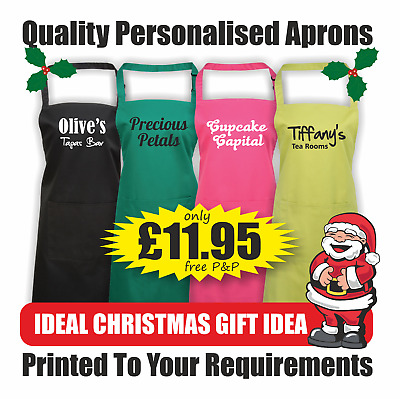 Printed  & Personalised Business Aprons with Pocket - PR154