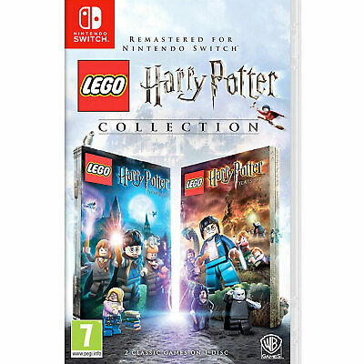 LEGO Harry Potter Collection Years 1-7 (Nintendo Switch) New and Sealed