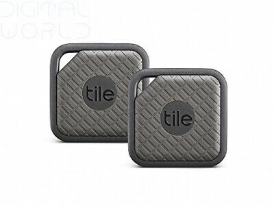 Tile Sport Key, Phone, Anything Finder Attach Ring it Find it Graphite Pack of 2