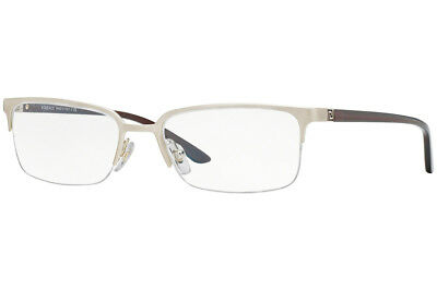 a0bae9745d2 Authentic Versace Eyeglasses VE1219 1339 Brushed Pale Gold Frames 54MM  Rx-ABLE