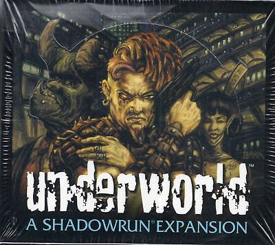 Shadowrun Underworld Expansion- BoosterTradingcard -DP