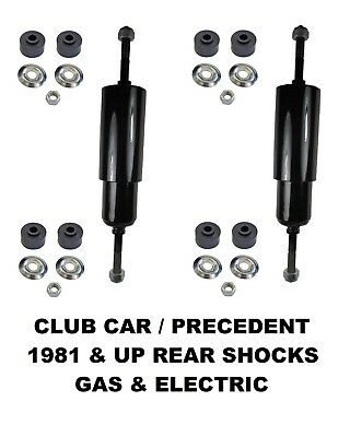 Club Car DS  PRECEDENT 1981-Up Electric Gas Golf Cart Rear Shock Absorbers 2 PCS