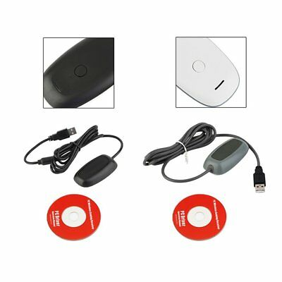 Black/white PC Wireless Controller Gaming USB Receiver Adapter for XBOX 360 SM