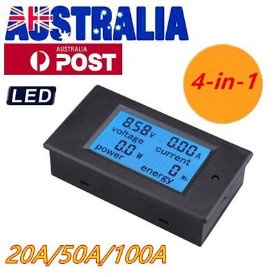 LCD 4-in-1 Multi-function Meter Voltage Current Power Electric Energy Meter PT