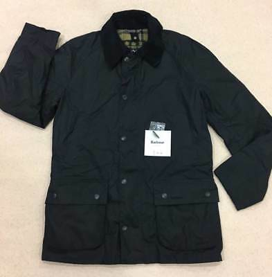 NEW! Barbour Ashby Waxed Jacket AW17 Mens Аuthentic  Navy Size S