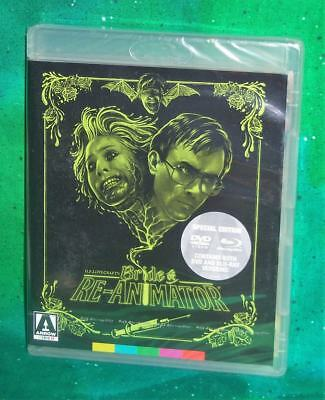 New Arrow Video The Bride Of Re-Animator Special Edition Blu Ray & Dvd 1989