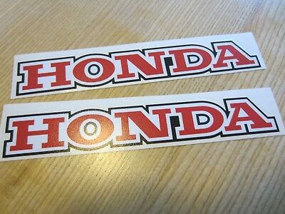 Honda Xl Xr Cr Cl Decal Tank Label Sticker Set Xl500 Xl250 Xr500 Xr250 Repro