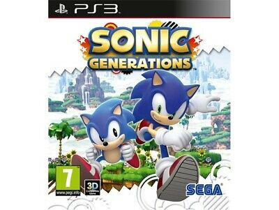 Juego Ps3 Sonic Generations Ps3 837582