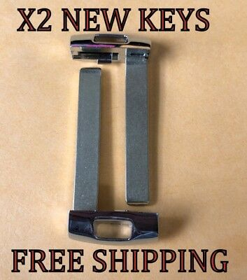 X2 NEW REPLACEMENT SMART KEY PROXIMITY BLADE BLANK INSERT FOR KIA 81999-D4060