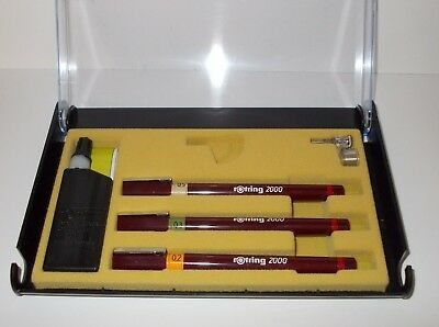 Rotring-Rapidograph-3-Pens-set-0-20-0-30-and-0-50-NEW-in-BOX  Rotring-Rapidograp