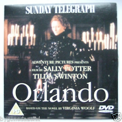 Orlando - A Film By Sally Potter/virginia Woolf  Promo Dvd Free Uk Post