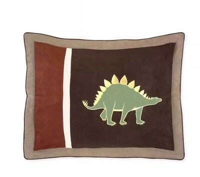 Dinosaur Dino Pillow SHAM For Bedding Set for Boys Room Sweet Jojo Designs NEW
