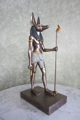 15 inch Egyptian Anubis Statue - NEW! Never been out of its box!