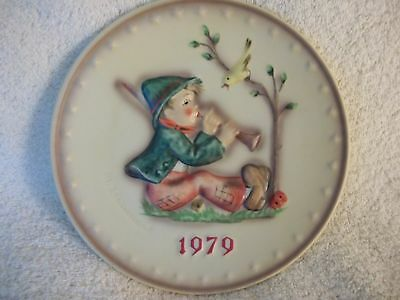 Hummel 1979 Annual Plate  New Conition  In Box