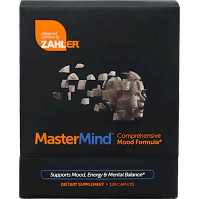 Advanced Nutrition by Zahler MasterMind 120 tabs - Exp 11/2019