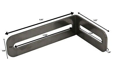 T Slot Stainless L Bracket **Knob NOT included** #3462