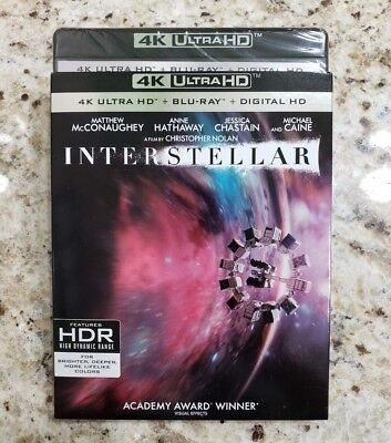 INTERSTELLAR  (4K Ultra HD Blu-ray Disc, No Digital) Like New