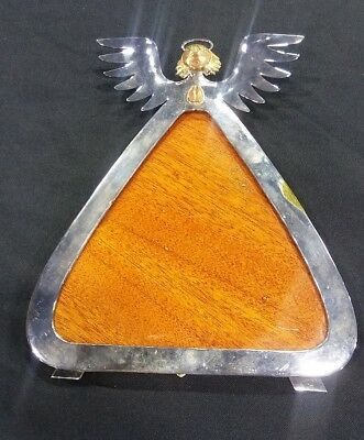 Emilia Castillo Mixed Metals Silver Winged Angel Picture Frame