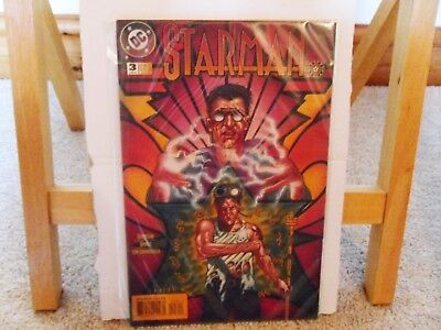 Starman #3 (James Robinson, 1st Print, 1995, DC Vertigo) Rare Comic in VFN