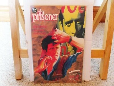 The Prisoner Book D #4 of 4 (1st Print, 1988, 48 pages) Rare Comic in NM