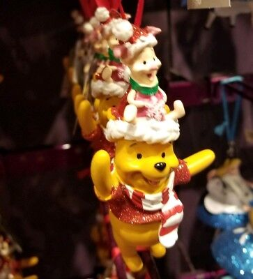 Disney Parks Winnie the Pooh and Piglet Christmas Ornament Holiday