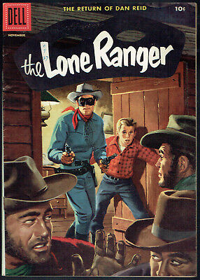 THE LONE RANGER  101  FN+/6.5  -  Solid copy! Cool painted cover!