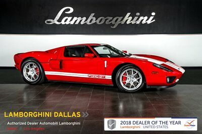 2006 Ford GT  LOW MILES!+WHITE STRIPES+BREMBO+MCINTOSH+KEYLESS+ALARM+SUPERCHARGED+HID