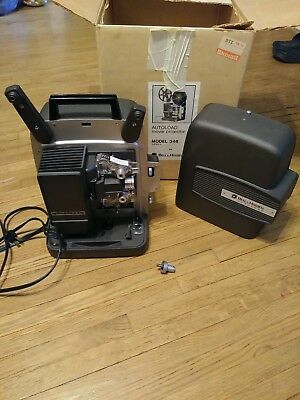 Vintage BELL & HOWELL Model 346A  Super 8 Autoload 8mm Movie Projector