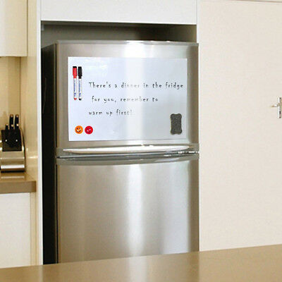 A3 Reminder Fridge Magnetic Whiteboard Family Message Board Office Memo