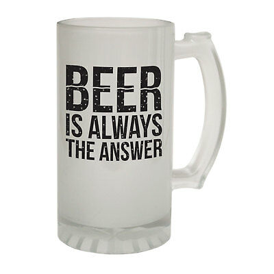 Bar Tools & Accessories Fine Beer Stein Catastrophe Part1 Funny Novelty Christmas Birthday Frosted Pint Glass
