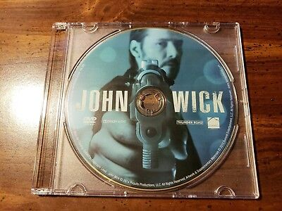 New John Wick Keanu Reeves regular dvd movie only