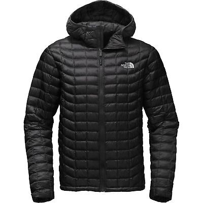 The North Face Men's Thermoball Hoodie INSULATED Jacket. Black.