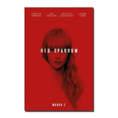 Red Sparrow Original Movie Theater Poster 27x40in D/S