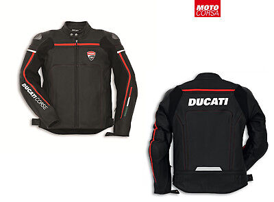 Ducati Corse 14 Leather Jacket by Dainese sz 48 - 56 Perforated & Non-Perforated