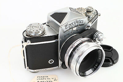 - Exakta Varex IIa Ver.1 Camera with Prism Finder  Isco 50mm Lens (Captain Jack)
