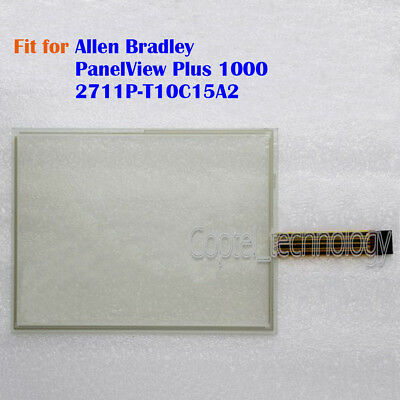 New Touch Screen Glass for Allen Bradley PanelView Plus 1000 2711P-T10C15A2
