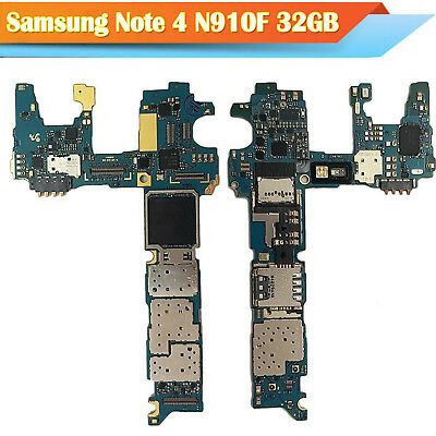 Main Motherboard Replacement Board For Samsung Galaxy Note 4 N910F 32GB Unlocked